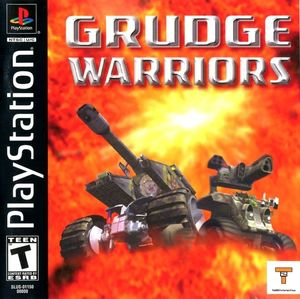 Cover for Grudge Warriors.