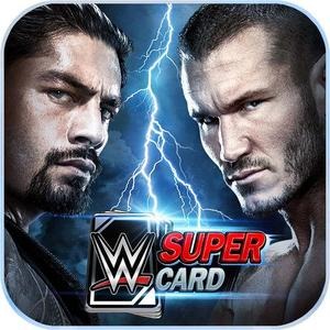 Cover for WWE SuperCard.