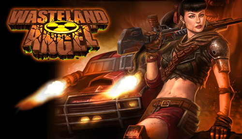 Cover for Wasteland Angel.