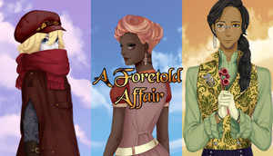 Cover for A Foretold Affair.