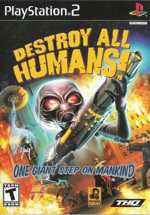 Cover for Destroy All Humans!.