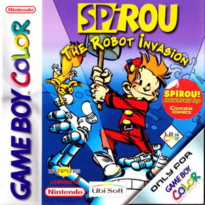 Cover for Spirou: The Robot Invasion.