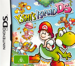 Cover for Yoshi's Island DS.