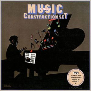 Cover for Music Construction Set.