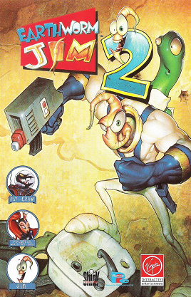 Cover for Earthworm Jim 2.