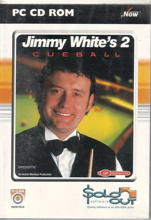 Cover for Jimmy White's 2: Cueball.