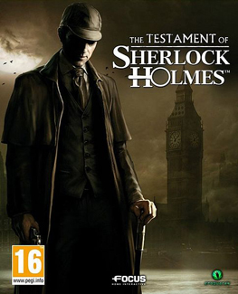 Cover for The Testament of Sherlock Holmes.