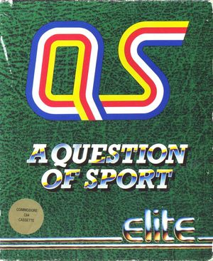 Cover for A Question of Sport.