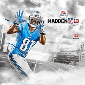 Cover for Madden NFL 13.