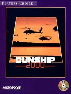 Cover for Gunship 2000.