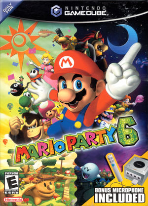 Cover for Mario Party 6.