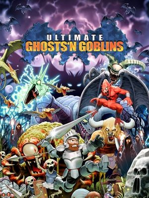 Cover for Ultimate Ghosts 'n Goblins.