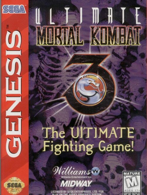 Cover for Ultimate Mortal Kombat 3.