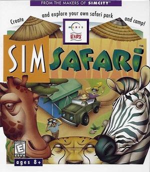 Cover for SimSafari.