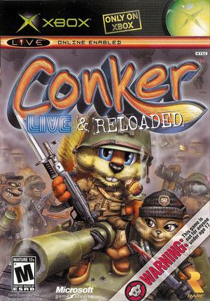 Cover for Conker: Live & Reloaded.