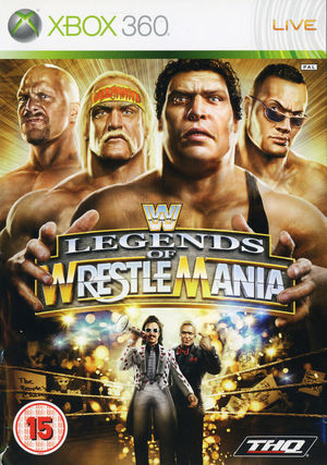 Cover for WWE Legends of WrestleMania.