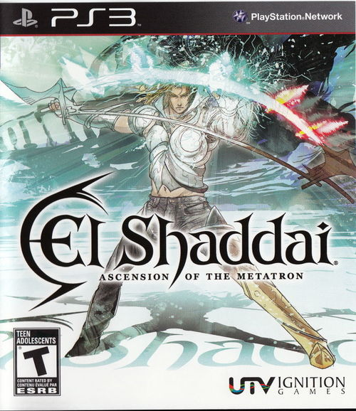 Cover for El Shaddai: Ascension of the Metatron.