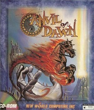 Cover for Anvil of Dawn.