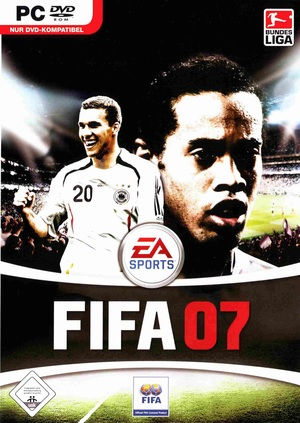 Cover for FIFA 07.