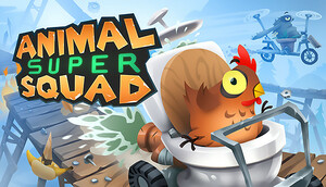 Cover for Animal Super Squad.