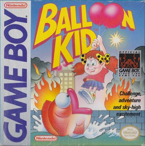 Cover for Balloon Kid.