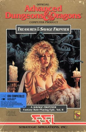 Cover for Treasures of the Savage Frontier.