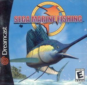 Cover for Sega Marine Fishing.