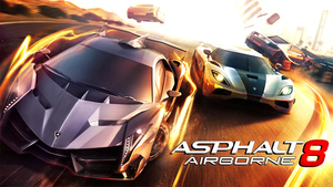 Cover for Asphalt 8: Airborne.