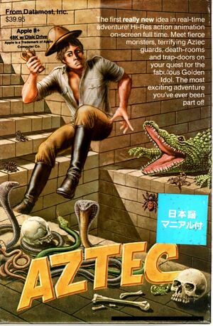 Cover for Aztec.