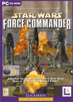 Cover for Star Wars: Force Commander.