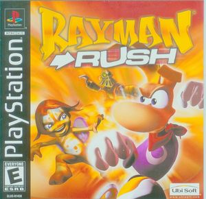 Cover for Rayman Rush.