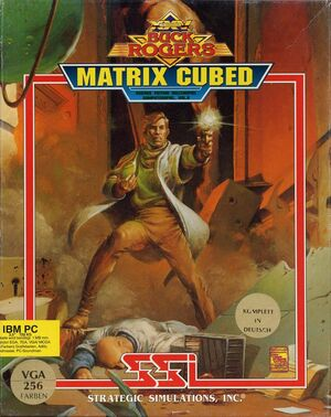 Cover for Buck Rogers: Matrix Cubed.