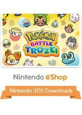 Cover for Pokémon Battle Trozei.