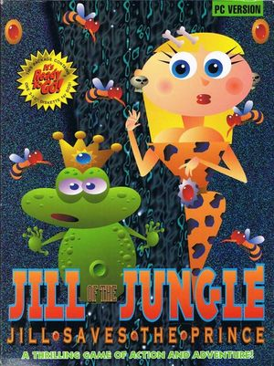 Cover for Jill of the Jungle: Jill Saves the Prince.