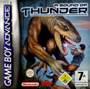 Cover for A Sound of Thunder.