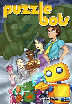 Cover for Puzzle Bots.