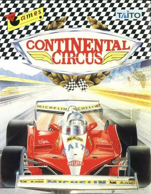 Cover for Continental Circus.
