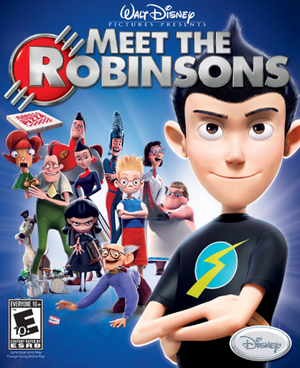 Cover for Meet the Robinsons.