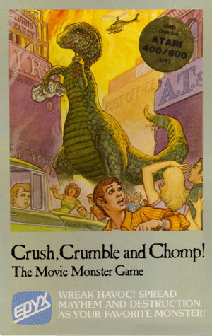 Cover for Crush, Crumble and Chomp!.