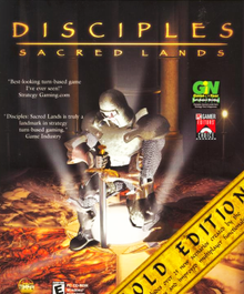 Cover for Disciples: Sacred Lands.
