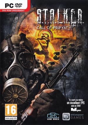Cover for S.T.A.L.K.E.R.: Call of Pripyat.
