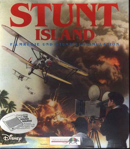 Cover for Stunt Island.