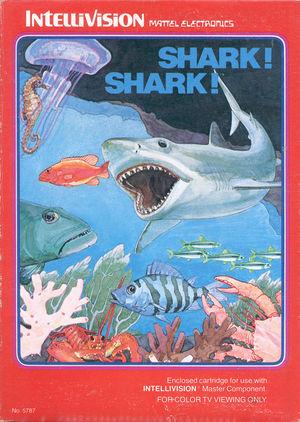 Cover for Shark! Shark!.