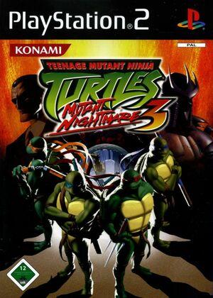 Cover for Teenage Mutant Ninja Turtles 3: Mutant Nightmare.