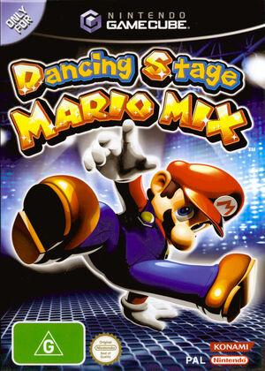 Cover for Dance Dance Revolution: Mario Mix.