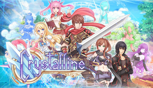 Cover for Crystalline.