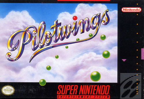 Cover for Pilotwings.