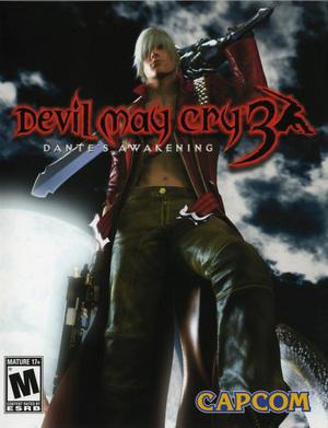 Cover for Devil May Cry 3: Dante's Awakening.
