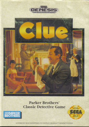 Cover for Clue.