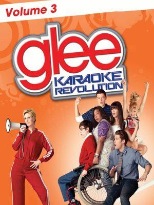 Cover for Karaoke Revolution Glee: Volume 3.